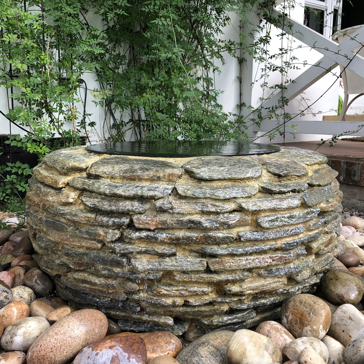 03 Sculptural Water Feature Iffley Oxford