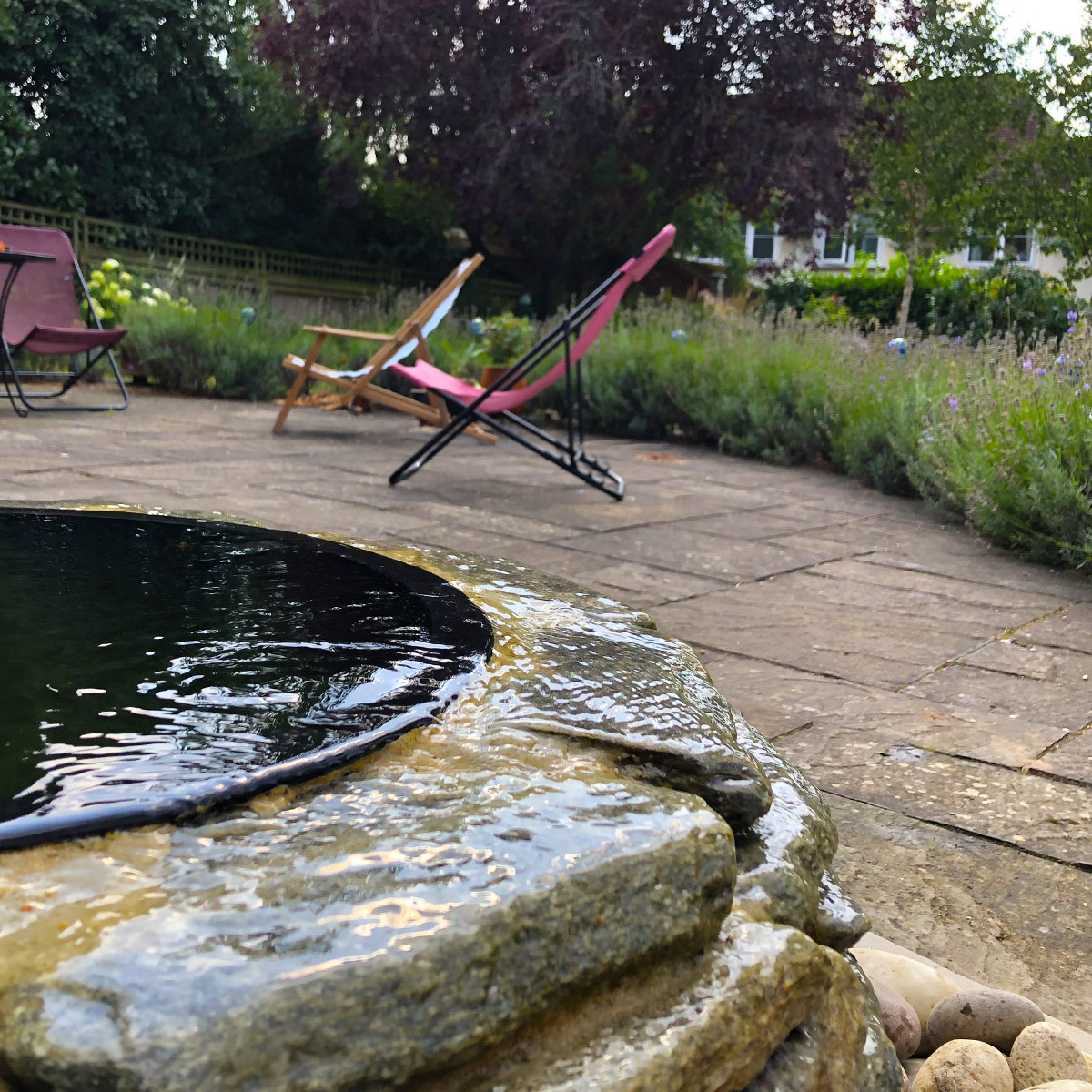 04 Sculptural Water Feature Iffley Oxford